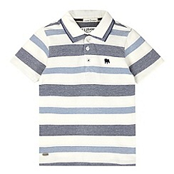 J by Jasper Conran - Designer boy's blue striped polo shirt