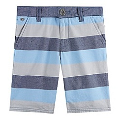 J by Jasper Conran - Designer boy's blue block striped shorts
