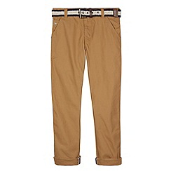 J by Jasper Conran - Designer boy's tan slim leg chinos