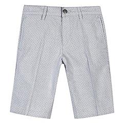 RJR.John Rocha - Designer boy's grey spotted shorts