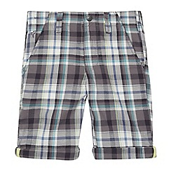 RJR.John Rocha - Designer boy's grey checked shorts