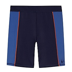 Mantaray - Boy's navy long swimming shorts