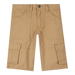 Mantaray - Boy's natural cargo shorts