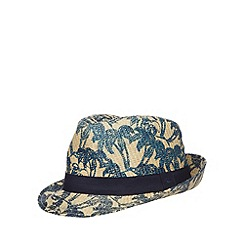 Mantaray - Boy's tan trilby hat