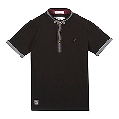 RJR.John Rocha - Designer boy's black cut and sew collar polo shirt