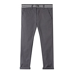 RJR.John Rocha - Designer boy's grey textured pull on trousers