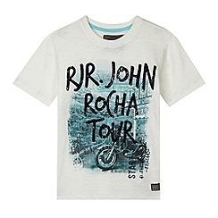 RJR.John Rocha - Designer boy's white 'RJR Tour' t-shirt