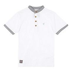 RJR.John Rocha - Designer boy's white checked trim shirt