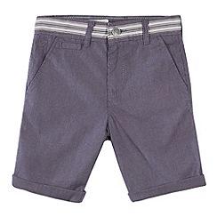 RJR.John Rocha - Designer grey textured shorts