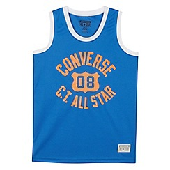 Converse - Boy's blue All Star vest