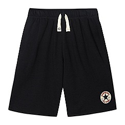 Converse - Boy's black 'Chuck Taylor' sweat shorts