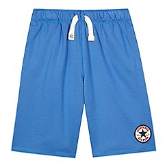 Converse - Boy's blue 'Chuck Taylor' sweat shorts