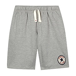 Converse - Boy's grey 'Chuck Taylor' sweat shorts