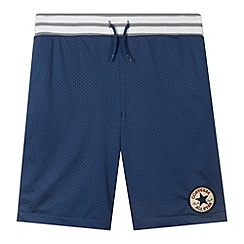 Converse - Boy's navy mesh shorts