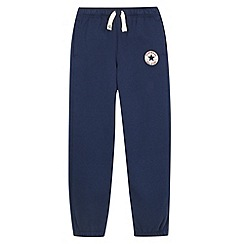 Converse - Boy's navy 'Chuck Taylor' patch jogging bottoms