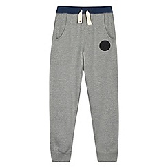Converse - Boy's grey slim fit joggers
