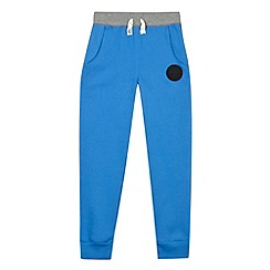 Converse - Boy's blue slim fit joggers