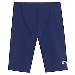Zoggs - Boy's navy plain swim trunks