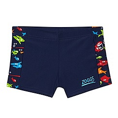 Zoggs - Boy's navy Elastomax swim shorts