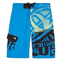 Animal - Boy's blue logo swim shorts