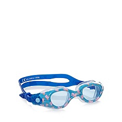 Zoggs - Boy's blue 'George Pig' swimming goggles