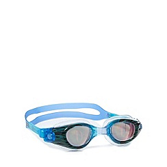 Zoggs - Boy's blue demon eye holographic swimming goggles