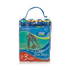 Zoggs - Pack of four blue seal dive sticks