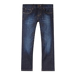 Levi's - Boy's dark blue 504 straight leg jeans