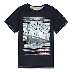 Levi's - Boy's navy Golden Gate Bridge t-shirt