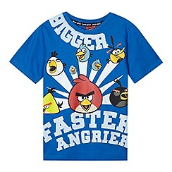 Angry Birds - Boy's blue 'Angry Birds' t-shirt