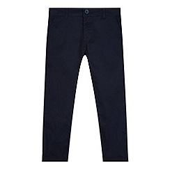 bluezoo - Boy's navy super skinny chinos