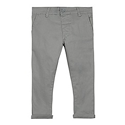 bluezoo - Boy's grey super skinny chinos