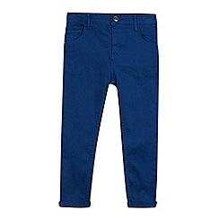 bluezoo - Boy's blue super skinny trousers