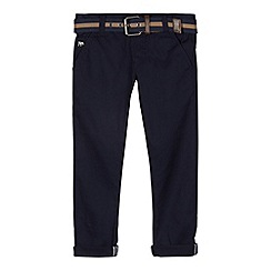 J by Jasper Conran - Designer boy's navy belted chinos