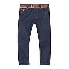 J by Jasper Conran - Designer boy's blue belted jeans