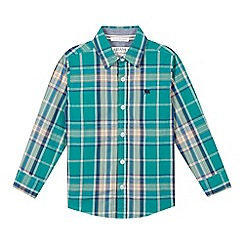 J by Jasper Conran - Designer boy's green checked shirt