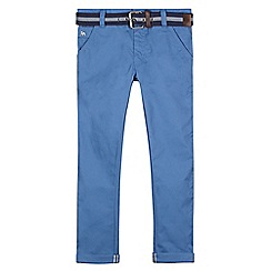J by Jasper Conran - Designer boy's blue belted chinos