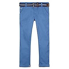J by Jasper Conran - Designer boy's blue belted chinos