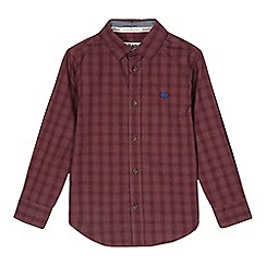 J by Jasper Conran - Boys' red checked shirt