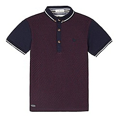 J by Jasper Conran - Boys' navy polo top