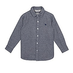 J by Jasper Conran - Boys' grey marl shirt