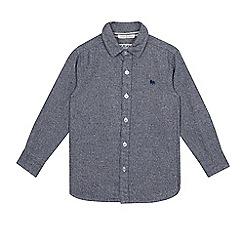 J by Jasper Conran - Boys' grey marl shirt