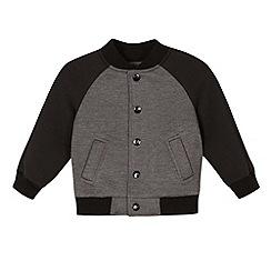 RJR.John Rocha - Designer boy's grey raglan sleeve bomber jacket