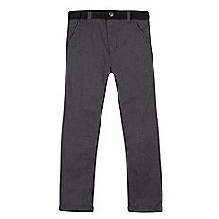 RJR.John Rocha - Designer boy's grey textured woven joggers