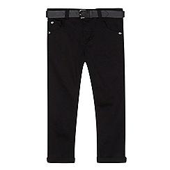 RJR.John Rocha - Designer boy's black belted skinny jeans