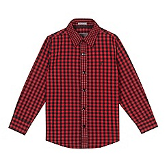 RJR.John Rocha - Boy's red checked shirt