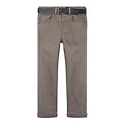 RJR.John Rocha - Boy's grey belted super skinny fit jeans