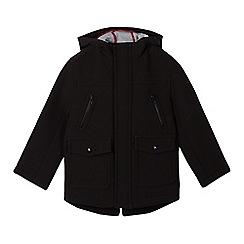 RJR.John Rocha - Designer boy's black neoprene parka coat