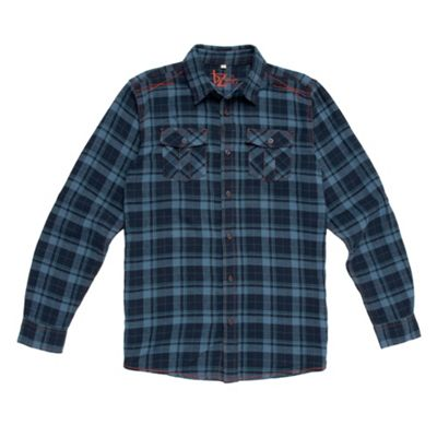 Boys Top Stitch Detail Check Shirt
