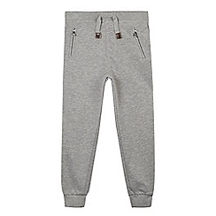 Mantaray - Boy's grey zip pocket jogging bottoms